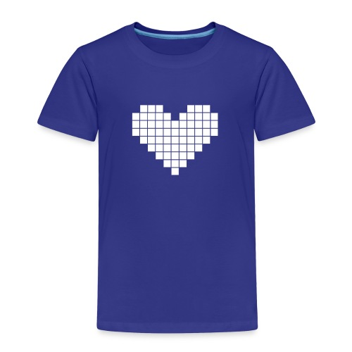 Pixel Heart - Toddler Premium T-Shirt