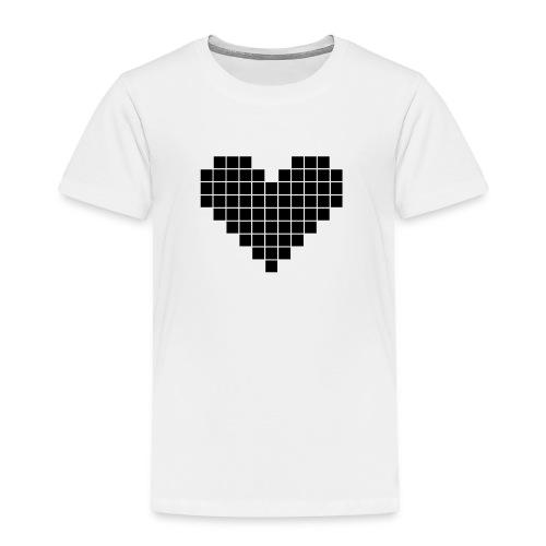 Pixel Heart - Toddler Premium T-Shirt