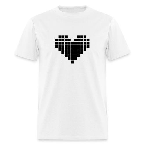 Pixel Heart - Men's T-Shirt