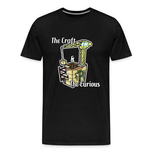 Mens The Craft & The Curious tee - Men's Premium T-Shirt