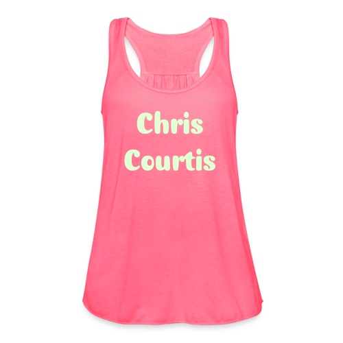 Courtis Summer Rose' 2015 - Women's Flowy Tank Top by Bella