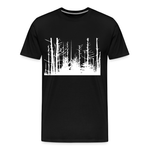 Spruce Forest Trees Men's T-Shirt - Men's Premium T-Shirt