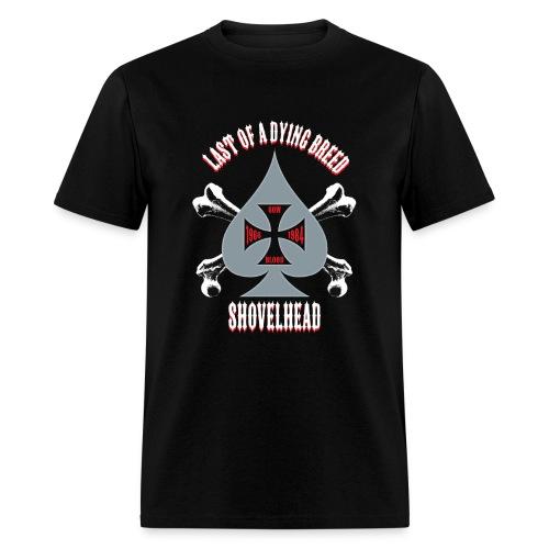 Men's T-Shirt - Grey Spade - Men's T-Shirt
