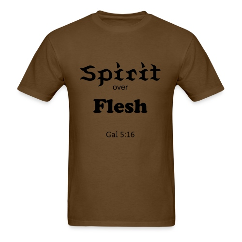 Spirit over Flesh (Men) - Men's T-Shirt