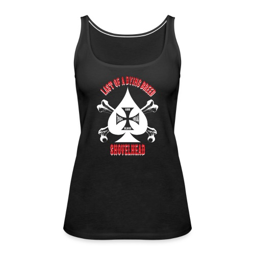 Women's Tank - White Spade - Women's Premium Tank Top