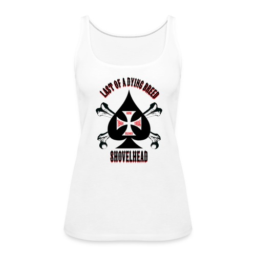Women's Tank - Black Spade - Women's Premium Tank Top