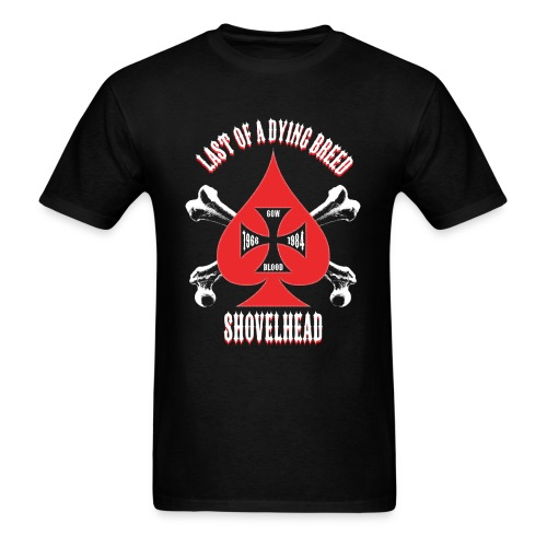 Men's T-Shirt - Red Spade - Men's T-Shirt