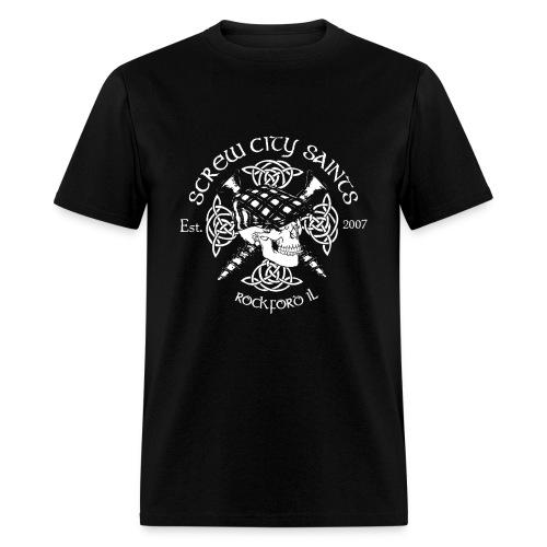 Skull n Scews Men's T-Shirt - Men's T-Shirt