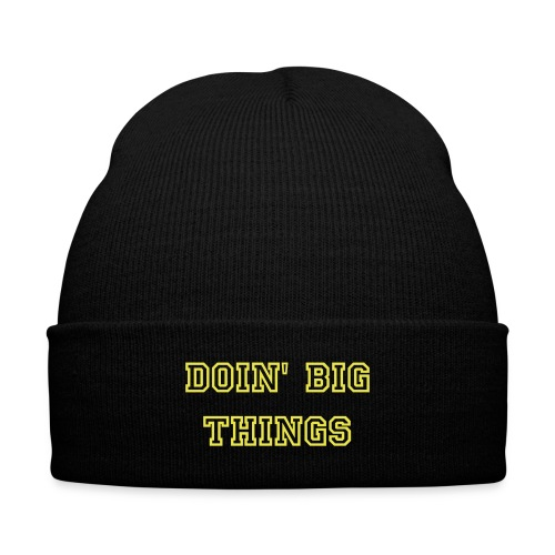 Thuhmp Winter Cap - Knit Cap with Cuff Print