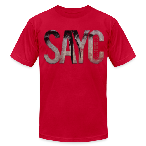 SAYC67 - Men's T-Shirt by American Apparel