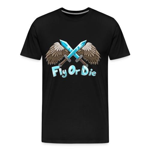 Old ImaFlyNmidget Logo T-Shirt - Men's Premium T-Shirt