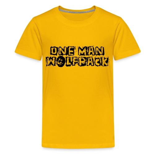 One Man Wolfpack - Kids' Premium T-Shirt