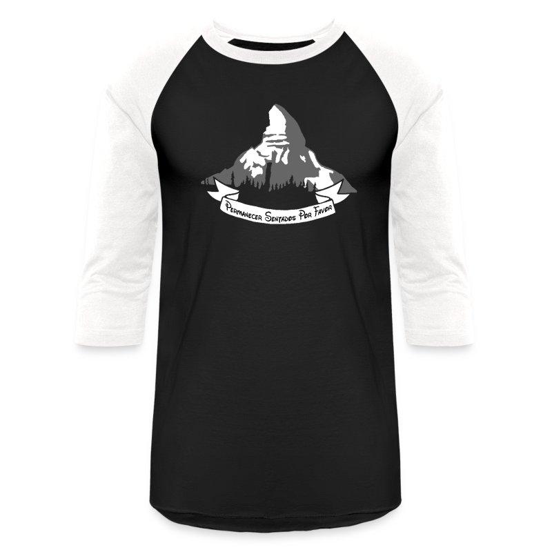 Mens Matterhorn Raglan Reverse - Baseball T-Shirt