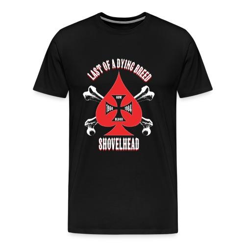 Men's T-Shirt - Red Spade 3-4xl - Men's Premium T-Shirt
