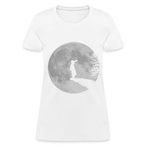 Rabbit Moon - Women's T-Shirt