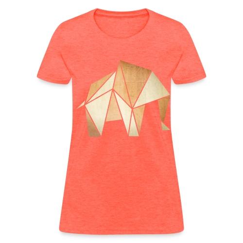 Geometric Elephant - Women's T-Shirt
