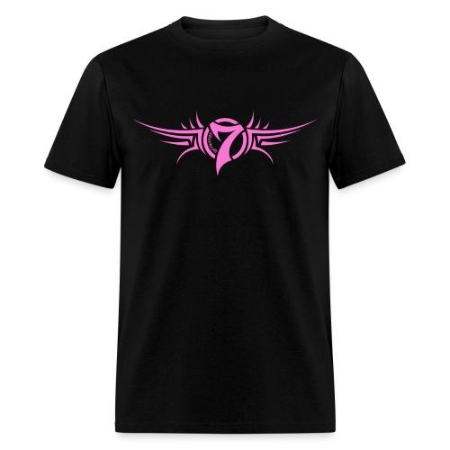 MayheM-7 - Tattoo Logo - Pink - Men's T-Shirt