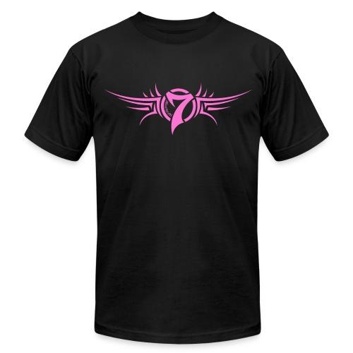 MayheM-7 - Tattoo Logo - Pink - Men's Fine Jersey T-Shirt