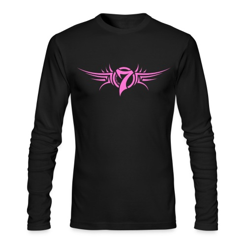 MayheM-7 - Tattoo Logo - Pink - Men's Long Sleeve T-Shirt by Next Level