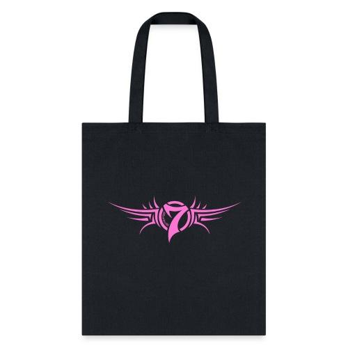 MayheM-7 - Tattoo Logo - Pink - Tote Bag