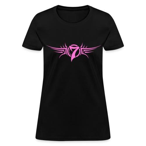 MayheM-7 - Tattoo Logo - Pink - Women's T-Shirt
