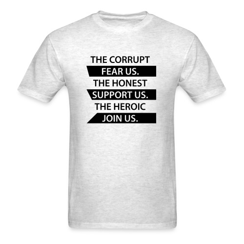 Corrupt Fear Us T-Shirt - MEN - Men's T-Shirt