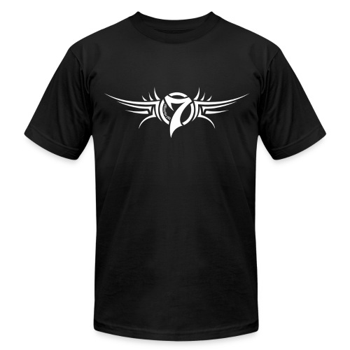 MayheM-7 - Tattoo Logo - White - Men's Fine Jersey T-Shirt