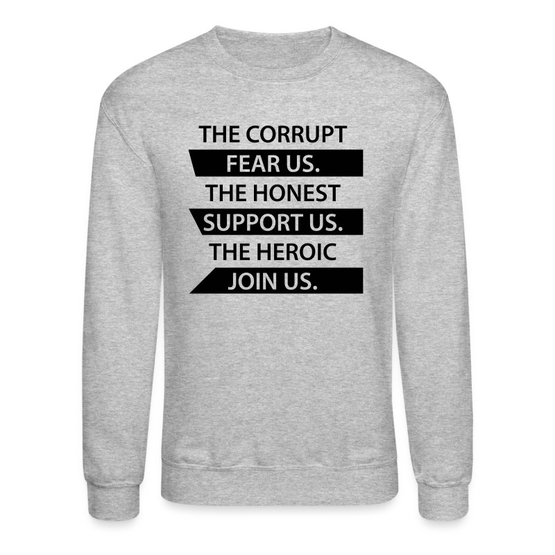 Corrupt Fear Us Sweater - MEN - Crewneck Sweatshirt