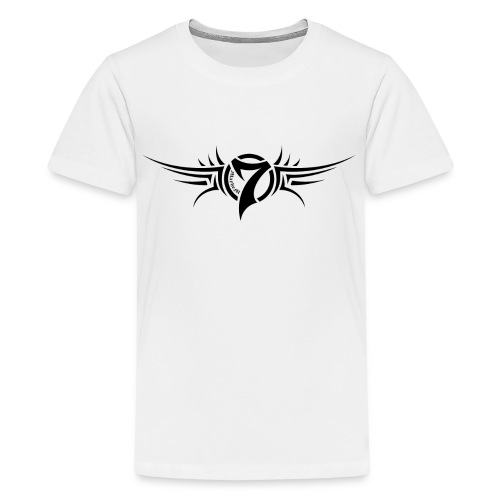 MayheM-7 - Tattoo Logo - Black - Kids' Premium T-Shirt