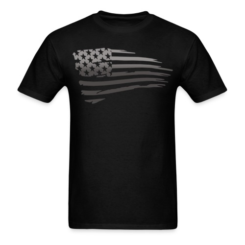 Battle Torn Flag - Men's T-Shirt