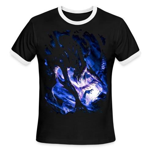 Alien Monster - Men's Ringer T-Shirt