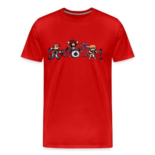 Pixel Band - Men's Premium T-Shirt
