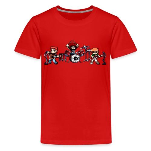 Pixel Band - Kids' Premium T-Shirt