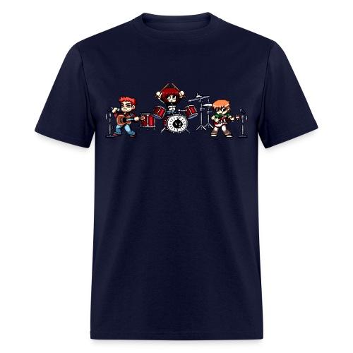 Pixel Band - Men's T-Shirt
