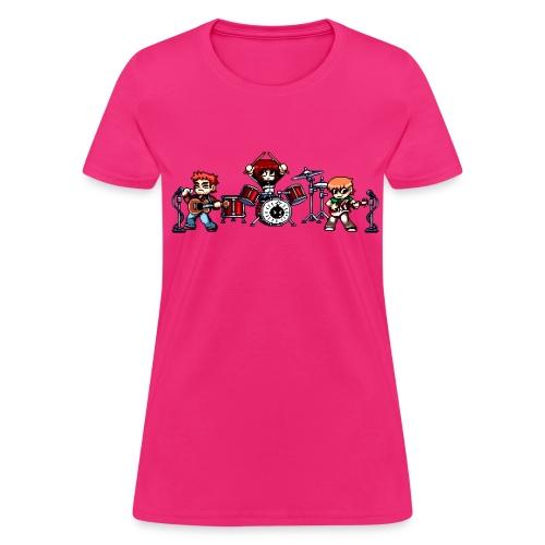 Pixel Band - Women's T-Shirt