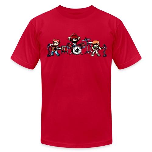 Pixel Band - Men's Fine Jersey T-Shirt
