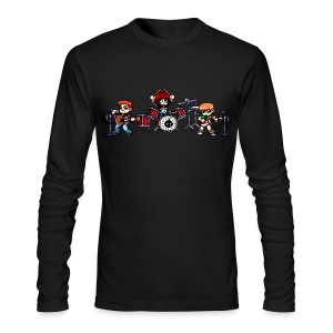 Pixel Band - Men's Long Sleeve T-Shirt by Next Level
