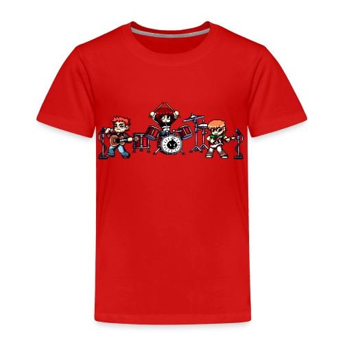 Pixel Band - Toddler Premium T-Shirt