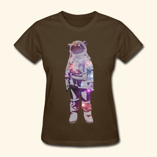 Sad Astronaut T-Shirt (ladies) - Women's T-Shirt
