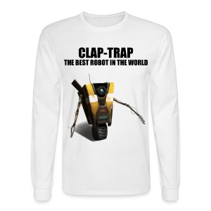 Claptrap - The Best Robot In The World - Men's Long Sleeve T-Shirt
