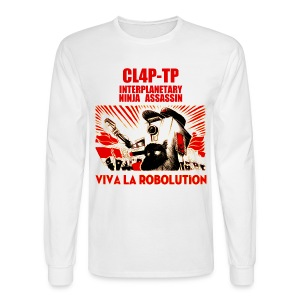 Claptrap - Viva la Robolution - Men's Long Sleeve T-Shirt