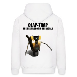 Claptrap - The Best Robot In The World - Men's Hoodie