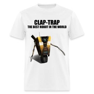Claptrap - The Best Robot In The World - Men's T-Shirt