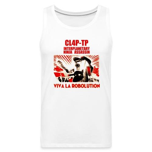 Claptrap - Viva la Robolution - Men's Premium Tank
