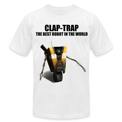 Claptrap - The Best Robot In The World - Men's Fine Jersey T-Shirt