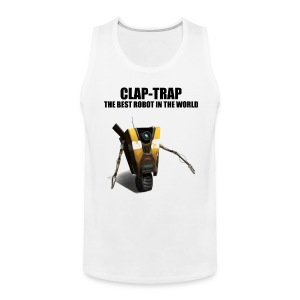 Claptrap - The Best Robot In The World - Men's Premium Tank