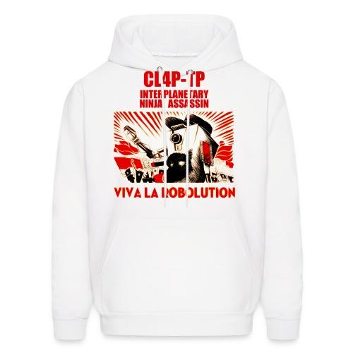 Claptrap - Viva la Robolution - Men's Hoodie