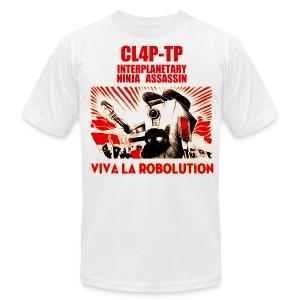 Claptrap - Viva la Robolution - Men's Fine Jersey T-Shirt