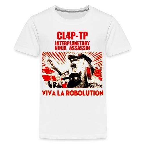 Claptrap - Viva la Robolution - Kids' Premium T-Shirt