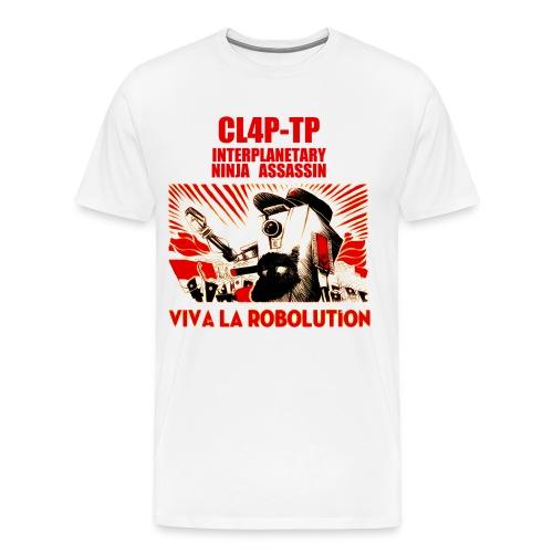 Claptrap - Viva la Robolution - Men's Premium T-Shirt